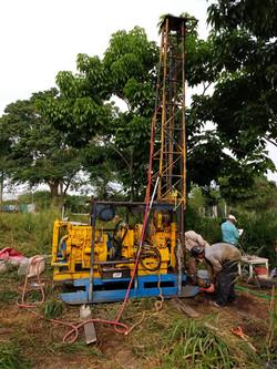 Exploración directa para mecánica de suelos