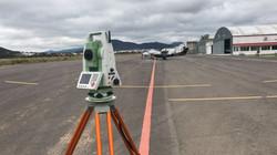 Topografía para ampliación de aeródromo
