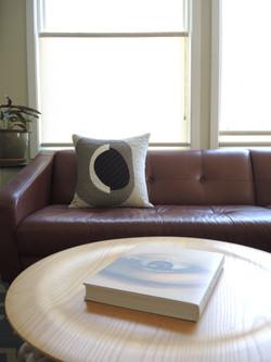 Sonia Log Cabin Pillow