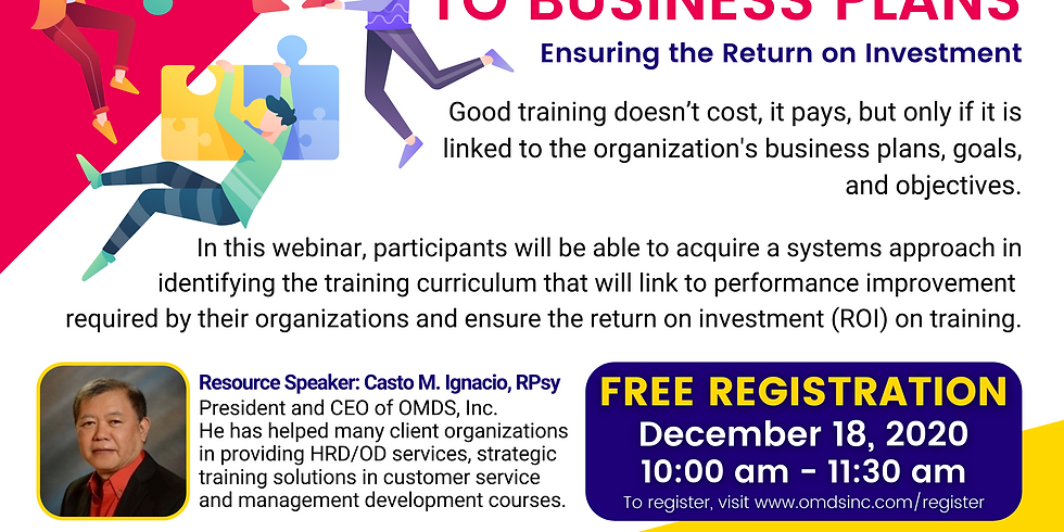 Linking Training to Business Plans