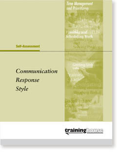 Communication Response Style - Package of 5 - RTHCR