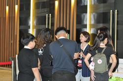 Volunteers Briefing Time