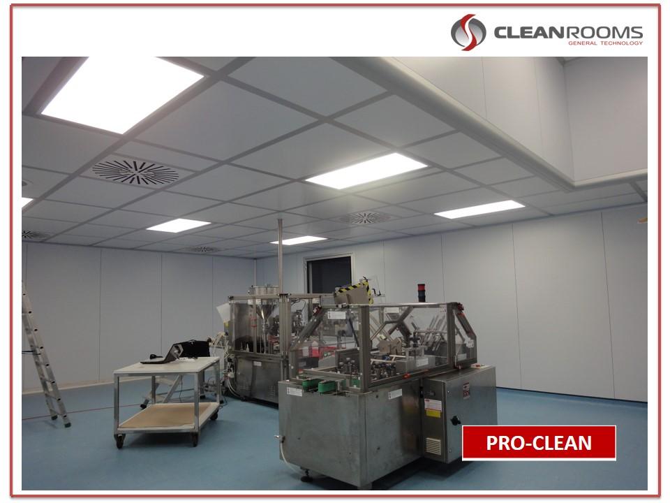 Монтаж оборудования чистых помещений