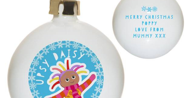 In The Night Garden Upsy Daisy Snowtime Bauble