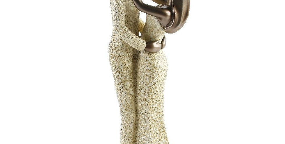 """Juliana resin stone figurine """" in your arms"""""""