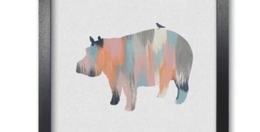 Pastel Animal Print