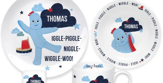 Igglepiggle Breakfast Set