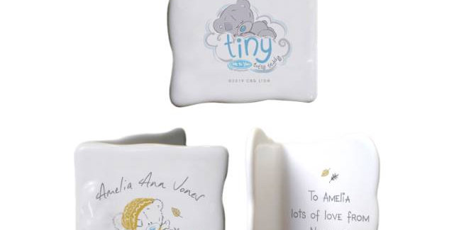 Tiny Tatty Teddy Autumn Leaves Message Card