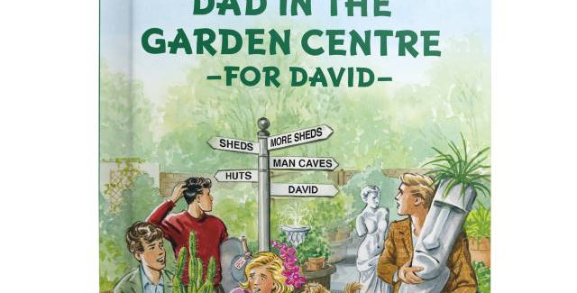 Five Lose Dad in the Garden Centre: A Personalised Enid Blyton Book