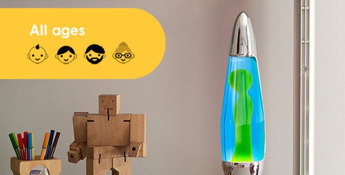 Mathmos Neo lava lamp: Chrome