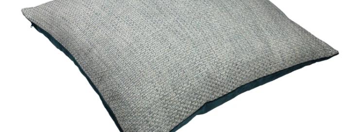 McAlister Skye Tweed Floor Cushion Teal