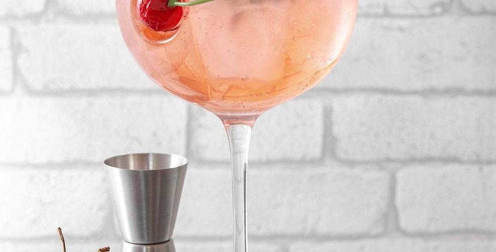 ice and slice balloon copa glass-cherry