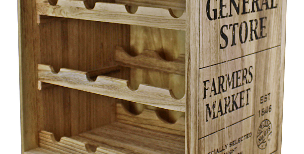 Crate Style Wine Storage