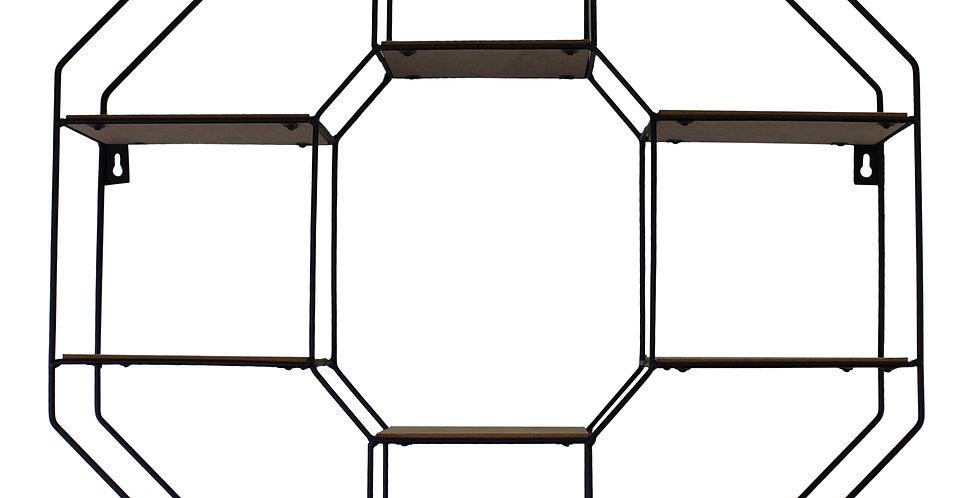 Octagonal Shelving Unit
