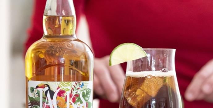 personalised spiced rum
