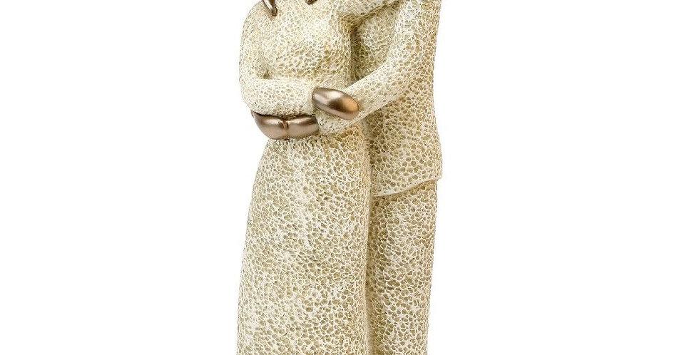 "Juliana resin stone figurine ""always"""