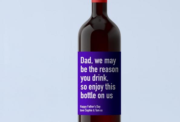 dad red wine