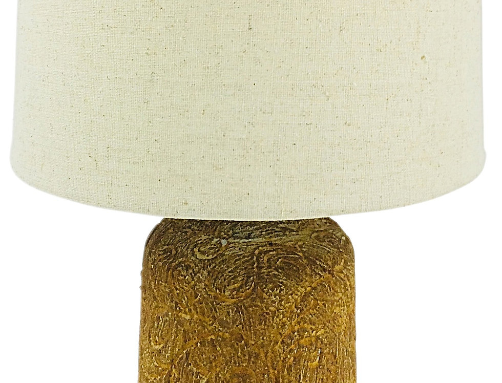 Golden Brown Distressed Lamp