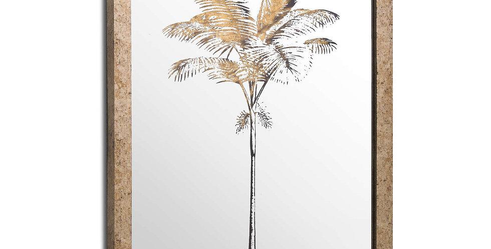 metallic mirror palm