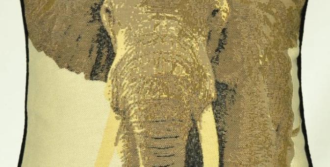 McAlister Elephant Cushion