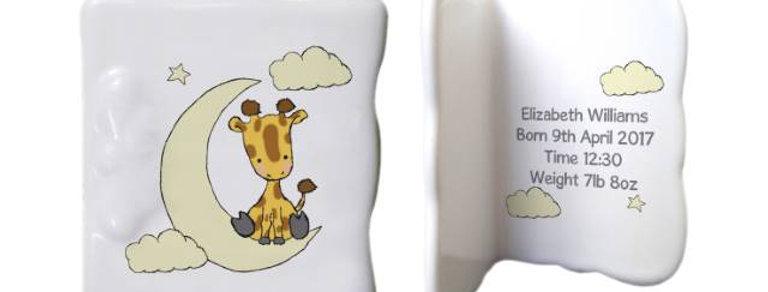 Sweet Dreams Giraffe Message Card