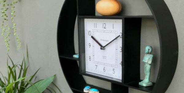 clock/shelf