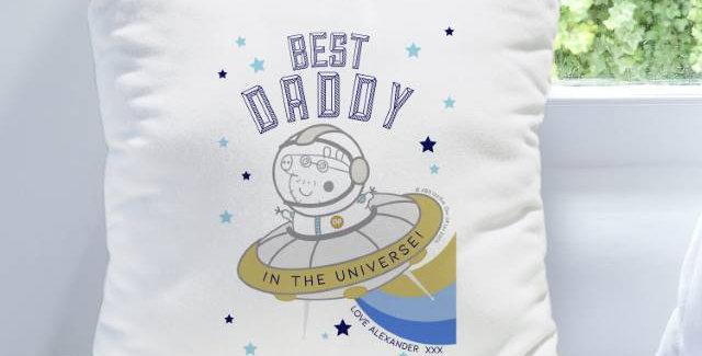 Peppa Pig™ Best Daddy Cushion