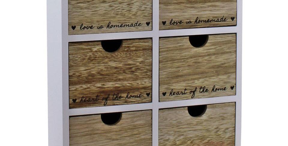 6 drawer cabinet