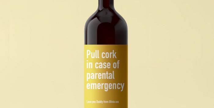 parental emergency wine