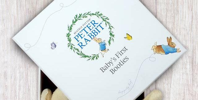 Peter Rabbit Booties