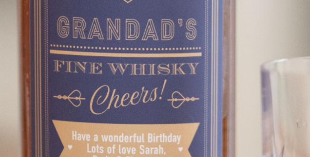 personalised cheers whisky