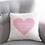 Thumbnail: personalised heart cushion
