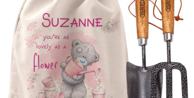 Me To You Lovely As A Flower Garden Tool Set