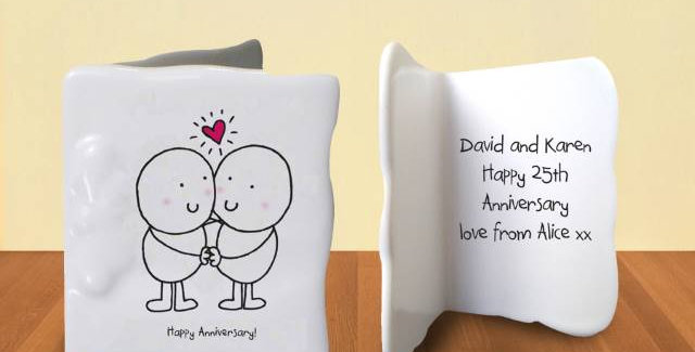 Chilli & Bubbles Anniversary Message Card