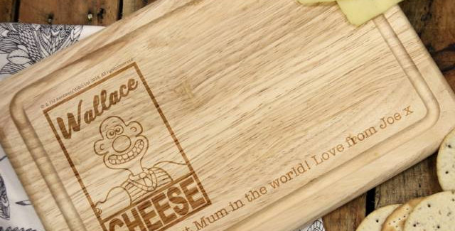Wallace & Gromit 'Wallace Cheese' Rectangle Cheese Board