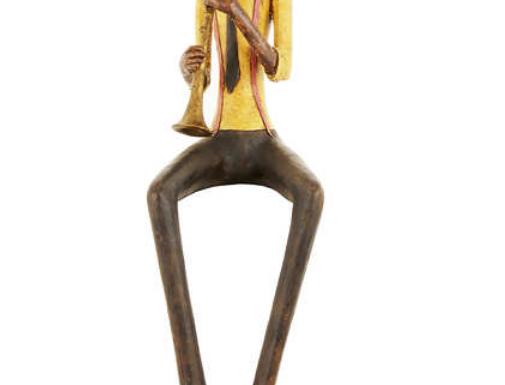jazz band sitting trumpeter