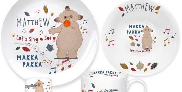 Musical Makka Pakka Breakfast Set