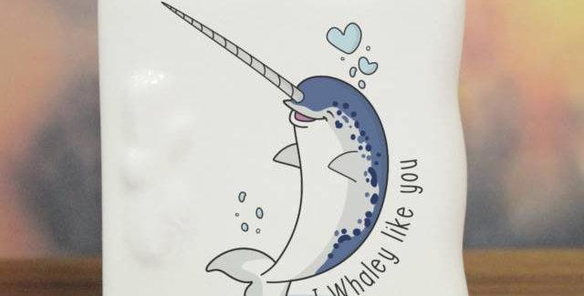 Whaley Like You Message Card