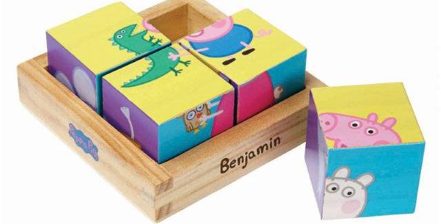 Peppa Pig Puzzle Blocks
