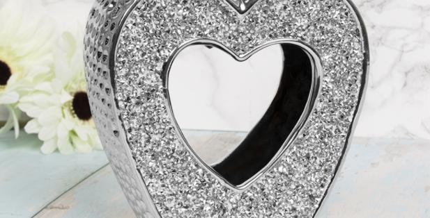 Ceramic Heart Oil /Wax Burner