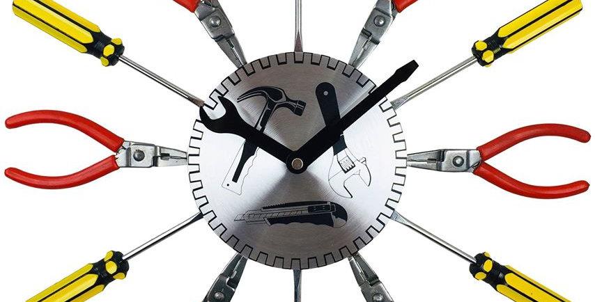 screwdriver clock