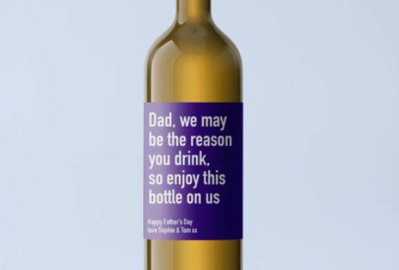 dad white wine