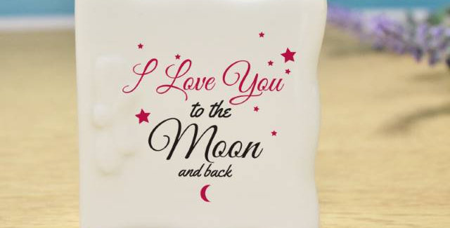 To The Moon & Back Message Card