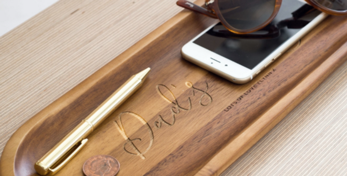 personalised wooden tray