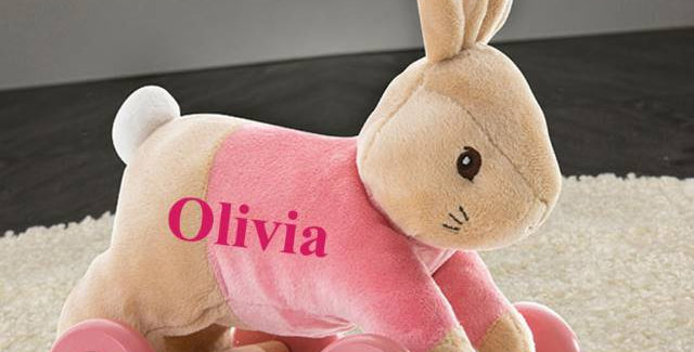 Flopsy Pull Along Toy
