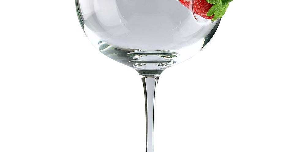 ice and slice balloon copa glass-strawberry