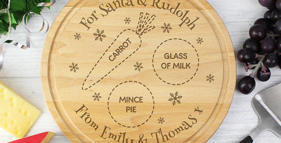Christmas Eve Mince Pie Board