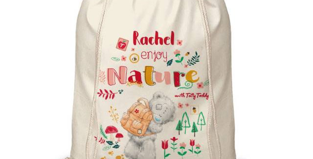 Me To You Enjoy Nature Drawstring Bag