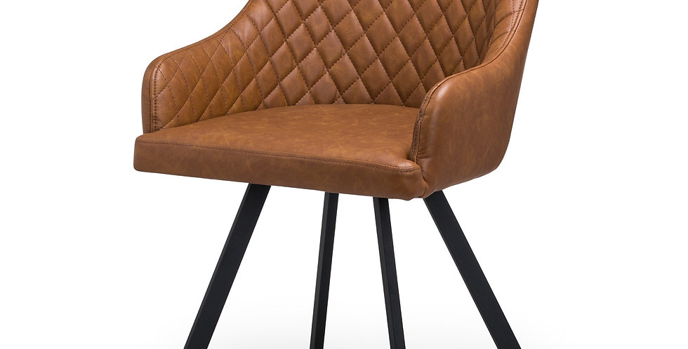 Tan Dining Chair