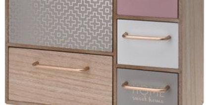 Wooden Mini Dresser Cabinet